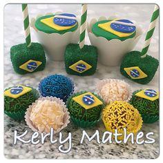 Brazil brigadeiros, cakepops and cupcakes