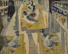 Kate Fryer's Pigeon Show, awarded the Hoffman-Wood (Leeds) gold medal in 1969
