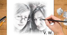 Ako by si vyzeral(a) ako kreslená postavička? Dovoľ nám nakresliť ťa! Round Glass, Glasses, Style, Eyewear, Eyeglasses, Eye Glasses, Sunglasses