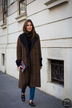 The classic understated plaid overcoat. Eye-catching, but not too extreme, the winter warmer can be easily styled to fit into a wide range of looks.