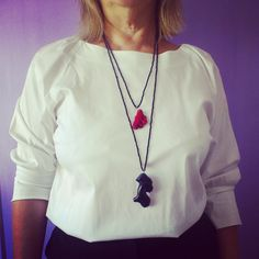 coral necklace collares jewelry bisuteria shuuforyou outfit style fashion