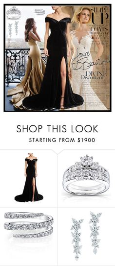 """""""dress"""" by merima-mrahorovic ❤ liked on Polyvore featuring Rachel Gilbert, Kobelli and Tiffany & Co."""