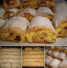 Romanian Food, Dessert Recipes, Desserts, Cake Cookies, Donuts, Muffin, Sweets, Bread, Cheese