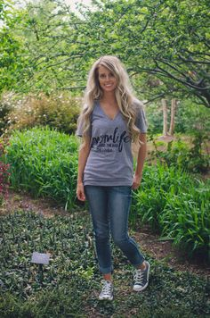Mom Life Tee available at J. Lilly's Boutique or jlillysboutique.com