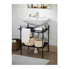 Pedestal Sink Base Cabinet : Pedestal sink storage!