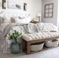27 Beautiful For Farmhouse Bedroom Decor Ideas And Design. If you are looking for For Farmhouse Bedroom Decor Ideas And Design, You come to the right place. Below are the For Farmhouse Bedroom Decor . Farmhouse Style Bedrooms, Farmhouse Master Bedroom, Farmhouse Decor, Rustic Bedrooms, Farm Bedroom, White Rustic Bedroom, Farmhouse Rugs, Rustic Bedroom Design, Bedroom Designs