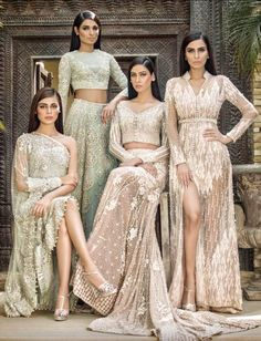 Pakistani bridal outfits for the by faraz manan Pakistani Couture, Indian Couture, Pakistani Bridal, Pakistani Outfits, Indian Outfits, Pakistani Models, Asian Fashion, High Fashion, Style Indien