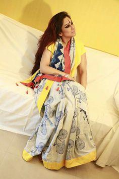 #Cotton Simple Sarees, Trendy Sarees, Stylish Sarees, Pure Silk Sarees, Cotton Saree, Indian Dresses, Indian Outfits, Modern Saree, Elegant Saree