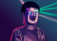 Buddha from a Korean cartoon(...).