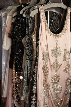 a choice of outfits for the ladies for my parties...