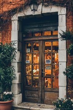 Door in Venice, Italy