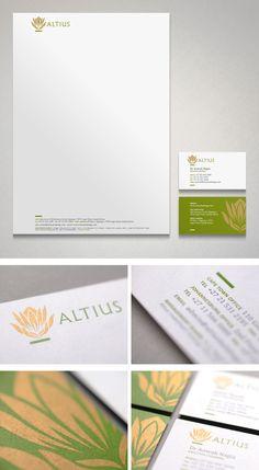Altius corporate identity design
