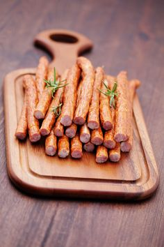 Make your own smoked snack sticks at home. #SnackSticks #SausageMaking