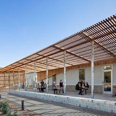 Contemporary Cedar Shade Structure