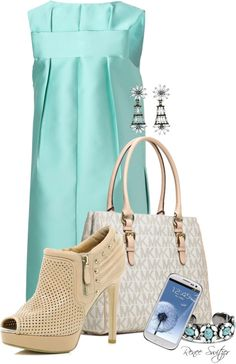 """""""Michael Kors Bag"""" by renee-switzer ❤ liked on Polyvore"""
