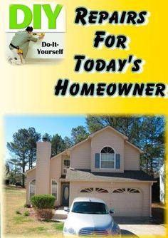 DIY Repairs For Today's Homeowner