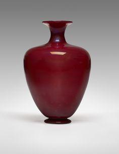 Carlo Scarpa Incamiciato vase MVM Cappellin Italy, 1928-1929