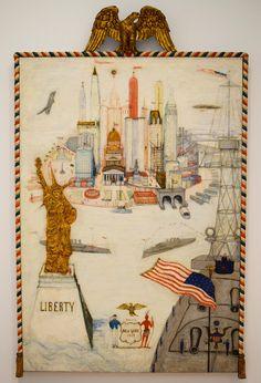 New York/Liberty.Florine Stettheimer.