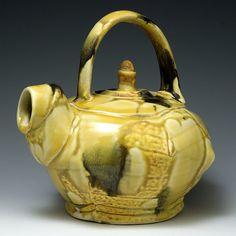 "drea-graceful: ""Frank Martin Love it! Pottery Teapots, Ceramic Teapots, Ceramic Pottery, Ceramic Art, Frank Martin, Tea And Books, Teapots And Cups, Mad Hatter Tea, Cat Mug"