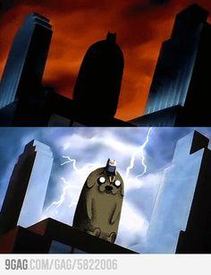 Adventure Time, Batman TAS style