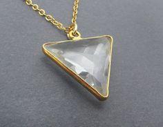 Collier pendentif collier géométrique par SharonClancyDesigns, $38.00