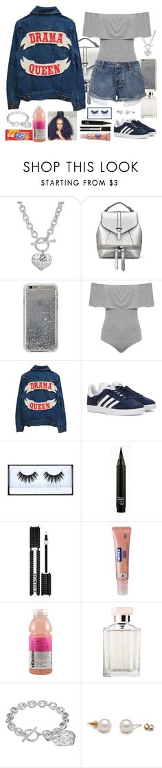 """""""Love This Jacket !"""" by cissylion ❤ liked on Polyvore featuring GUESS, Agent 18, WearAll, adidas Originals, Huda Beauty, Givenchy, Nivea and STELLA McCARTNEY"""