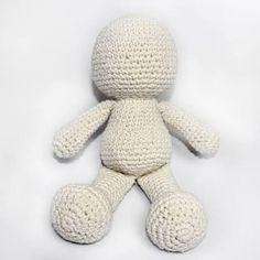 Resultado de imagem para receita de boneca de croche em amigurumi com passo a paso