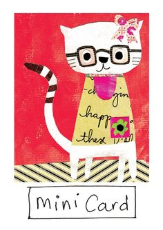 Greeting Cards » Kitty » Kitty - Paper Salad