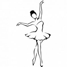 Ballerina Drawing, Dancer Drawing, Ballet Drawings, Dancing Drawings, Easy Drawings Sketches, Girl Drawing Sketches, Cool Art Drawings, Pencil Art Drawings, Ballet Illustration