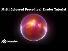 In this video tutorial I will show you how to create a Multi Coloured Procedural Shader using Blender We will create the shader using only internal Blen.