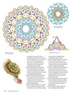 Схемы украшений из бисера, бусин и прочих материалов. Handmade,
