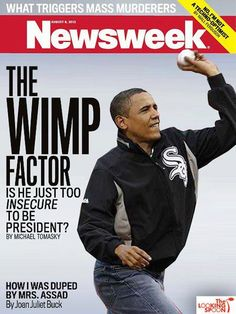 Barracuda Brigade: What ??? Sports Illustrated names Obama one of the most powerful people in sports... ***You have got to be Joking... because Obama is a JOKE !!!!!