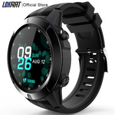 Buy New Bluetooth Smart Watch Women Men Support SIM Card Call Heart Rate Pedometer Clock Sport Mode GPS Smartwatch For Android ios at www.smilys-stores.com! Free shipping. 45 days money back guarantee. Spiderman Lego, Push App, Men's Watches, Watches For Men, Time And Weather, Remote Camera, Watch Women, Watch Faces, Heart Rate