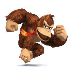 Donkey Kong as he appears in Super Smash Bros. for Nintendo 3DS / Wii U.