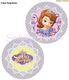 Sofia the first free party circles