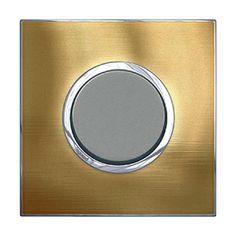 Arteor Switch Push-button Gold Brass