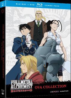 Fullmetal Alchemist Brotherhood OVA Collection DVD #RightStuf2013