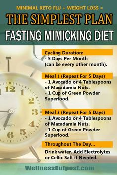 How To Do The Fasting Mimicking Diet (A 5 Day Plan For Weight Loss & Longevity) Find out the plan on how to do the what you need to eat, and what you need to drink for 5 days each month (or every other month) for system reducing effects, lowering Diet Plans To Lose Weight Fast, Weight Loss Diet Plan, Fast Weight Loss, Reduce Weight, Loose Weight, Losing Weight, Nutrition Plans, Diet And Nutrition, Health Diet