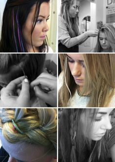 Modern Design, feather in the hair, great lenghts, feather yourself, colors, natural, hippiespirit, bohemian