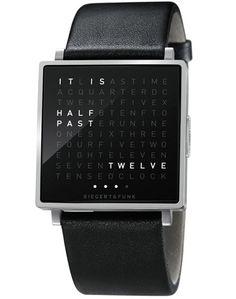 Relógio inovador mostra a hora por meio de palavras