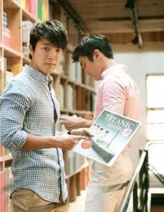 Super Junior Experience Korea Siwon and Donghae