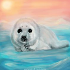 felt seal animal | Cute little seal by MarianaFM on deviantART