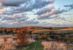Buytenpark, Zoetermeer, Just before sunset. #dutch #weather