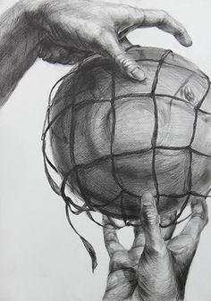 2013年度 多摩美術大学 プロダクトデザイン専攻 現役合格者再現作品:鉛筆デッサン