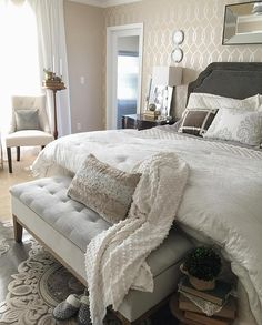 """So cozy, comfy and pretty! By @ptbdesignco """
