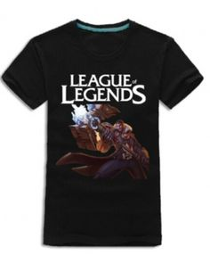 Jayce short sleeve t shirt League of Legends mens casual tee for summer-