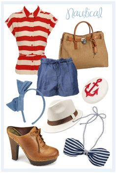 style me: nautical {via} wolf and willow