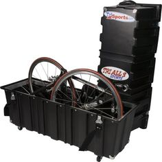 """Tri All 3 Sports Velo Safe Pro-Series """"Original"""" Case. No need to remove seats for storage. New Velcro latch covers to help protect your case. Biker Boys, Biker Girl, Bike Shipping, Car Racks, Bicycle Accessories, Bike Life, Baby Strollers, Transportation, Cycling"""