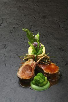 presentation L'art de dresser et présenter une assiette comme un chef de la gastronomie...