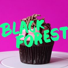 Our own spin in the classic Black Forest Cake, a German dessert with cherry and chocolate.